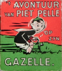 't Avontuur van Piet Pelle op zijn Gazelle.