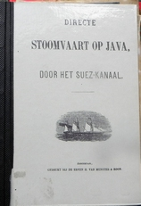 Directe stoomvaart op Java, door het Suez Kanaal