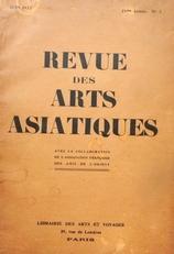 Revue des arts asiatiques