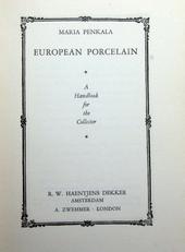 European Porcelain, a handbook for the collector.