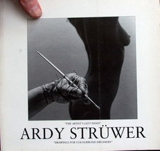 Ardy Struwer ,the artists left hand