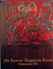 20e Eeuwse Toegepaste Kunst 2001