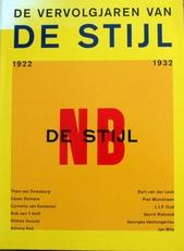 De vervolgjaren van de stijl 1922-1932