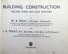 Building Construction volume three and four