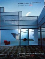 Architectuur in Nederland,jaarboek 1993-1994