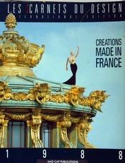Creations made in France,les carnets du design