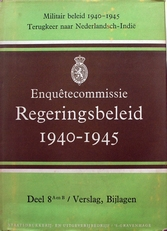 Enquetecommissie regeringsbeleid 1940-1945.Drie delen.