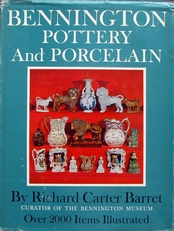 Bennington pottery and porcelain.