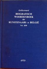 Biografisch woordenboek der kunstenaars in Belgie na 1830.