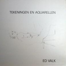 Ed Valk , tekeningen en aquarellen.