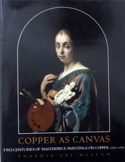 Copper as Canvas.Masterpiece paintings on copper.Author is P