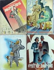 Centrale Modegids 1937 . Vier tijdschriften.