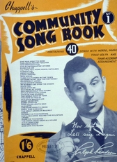 Community song book,no 1.