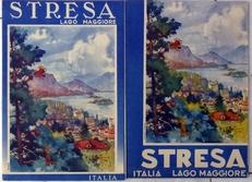 2 folders van Lago Maggiore STRESSA.