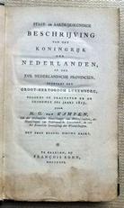 Beschrijving van het Koningrijk der Nederlanden 1816.