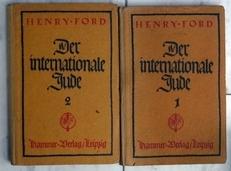 Der Internationale Jude 1 und 2. (Zwei Teilen).