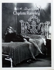 Charlotte Rampling with complements.