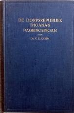De dorpsrepubliek Tnganan Pagringsingan.