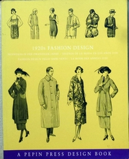 1920 's Fashion Design.