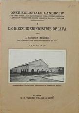 De rietsuikerindustrie op Java.