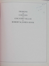 Designs for Castles and Country Villas.