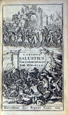 .Primus in historia, seu Bellum Catilinarium, et Jugurthinum