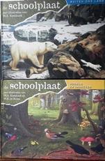 De schoolplaat, vogels en insecten en De Schoolplaat buiten