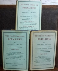 The Place-Names of Berkshire. Part One, Two and Three.