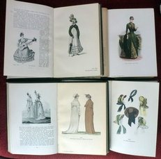Die mode. Menschen und moden im 19.jahrhundert 4 Teilen,