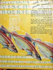 Visch-boekje ,Calve Delft
